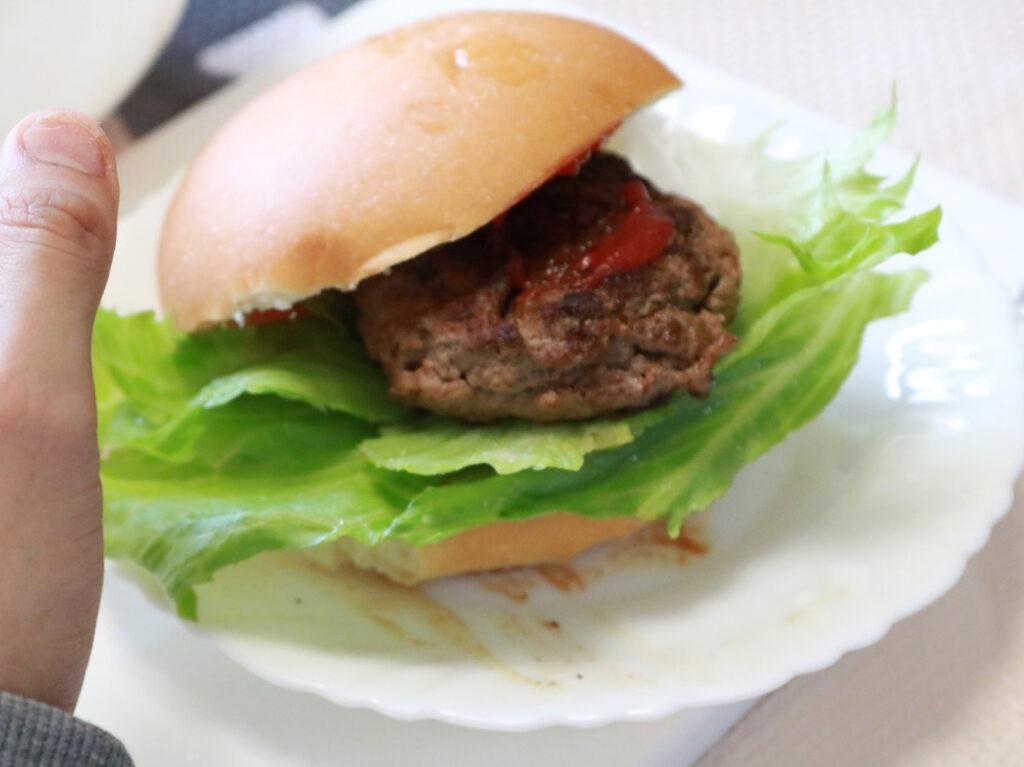 5月29日ハンバーガー作り